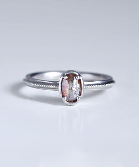 One of a kind / Diamond Ring <PT900> - R568C