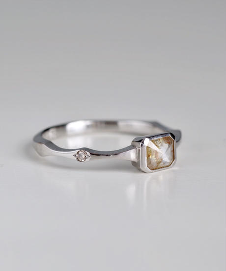 One of a kind / Diamond Ring <PT900> - R373C
