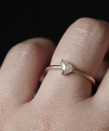 One of kind / Diamond Ring <K18YG> -R430CYG