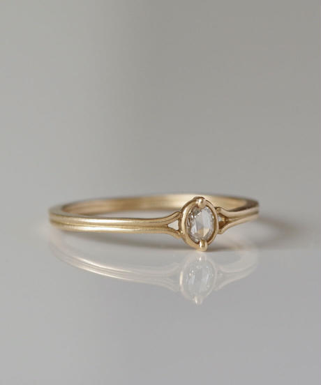 One of a kind / Diamond Ring <K18YG> - RR070C