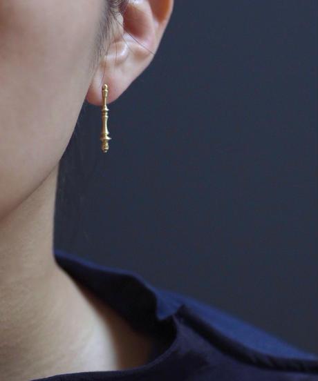 Spindle pierces  - Ⅰ <K18YG> - single