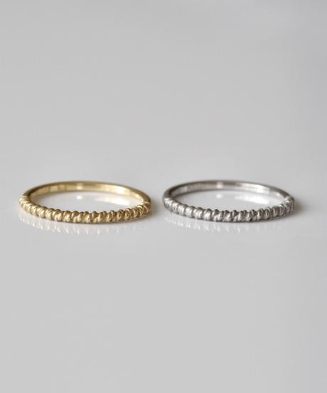 TWIST ring  <K18YG>