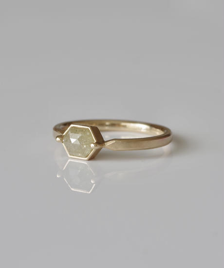 One of kind / Diamond Ring <K18YG> - R885CYG