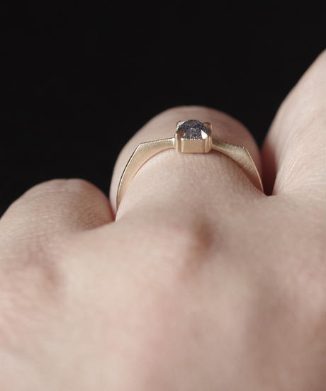 One of kind / Diamond Ring <K18YG> -R457CYG