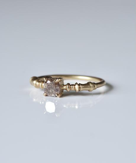 One of kind / Diamond Ring <K18YG> -R750CYG