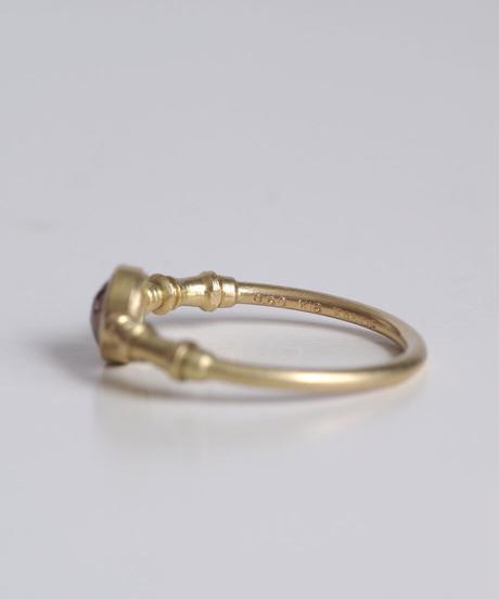 One of a kind / Diamond Ring <K18YG> - R500C