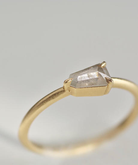 One of kind / Diamond Ring <K18YG> - R329C