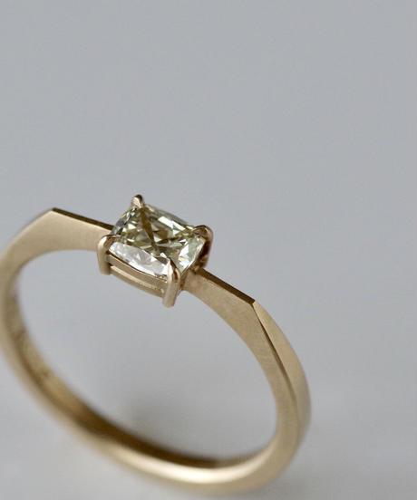 One of kind / Diamond Ring <K18YG> -R390CYG