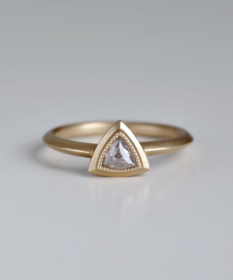 One of a kind / Diamond Ring <K18YG> - R333C