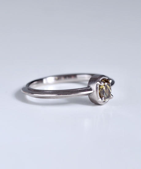 One of a kind / Diamond Ring <PT900> - R324C