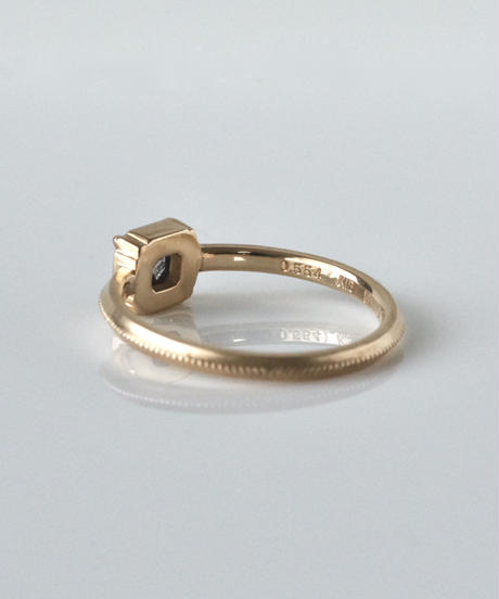 One of kind / Diamond Ring <K18YG> -R544C