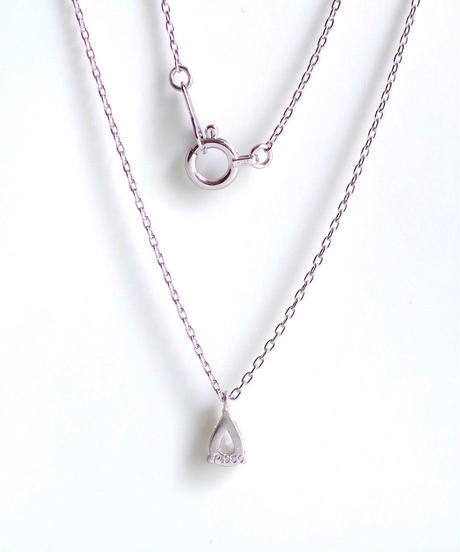 One of a kind / Rosecut Diamond Necklace <PT850> - NR159C