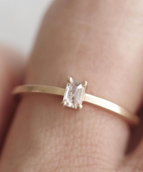One of a kind / Diamond Ring <K18YG> - R185C