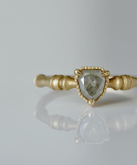 One of a kind / Diamond Ring <K18YG> - R621C