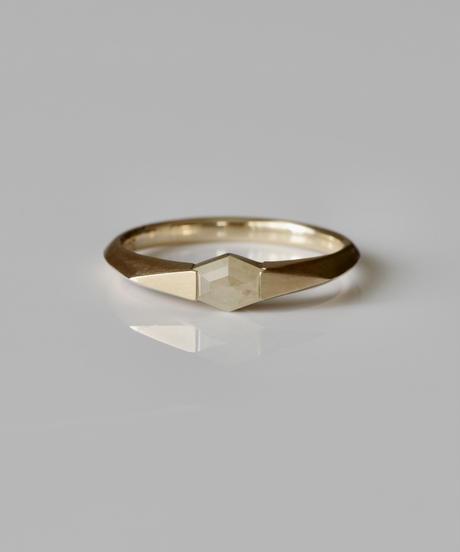 One of kind / Diamond Ring <K18YG> -R278CYG