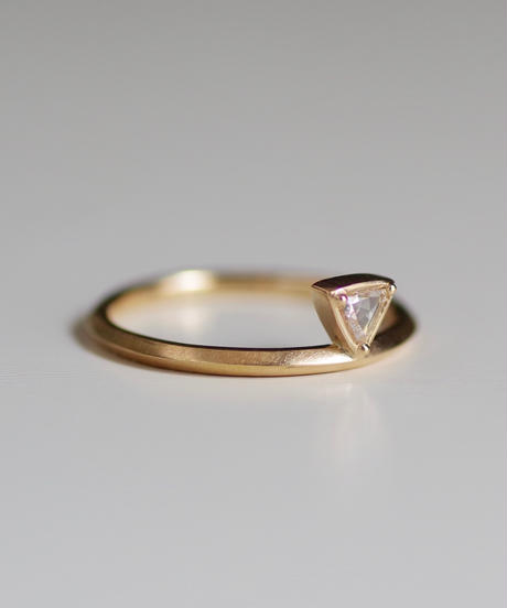 One of a kind / Diamond Ring <K18YG> - RRtr102C