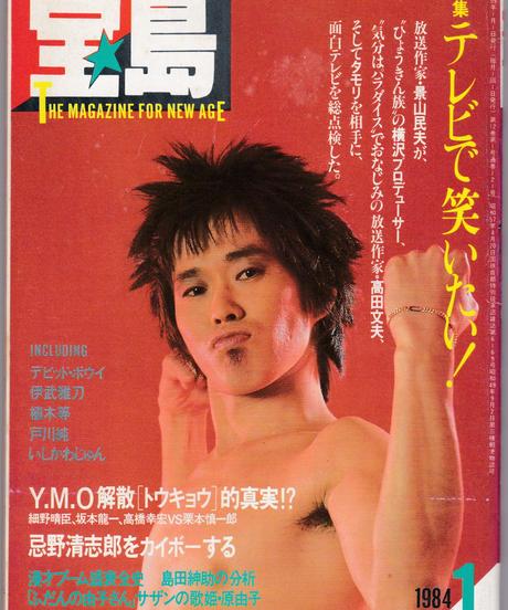 宝島 1984年1月号