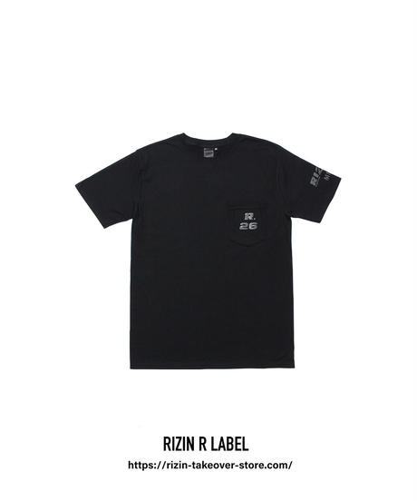 RIZIN26.Tシャツ(ポケット)【TS-PK】