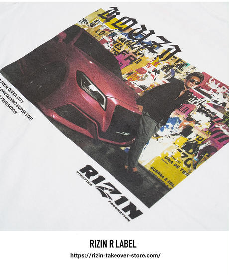 RIZIN×皇治 Tシャツ【TS-KZ】