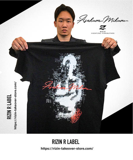 RIZIN×朝倉未来Tシャツ【TS-AM】