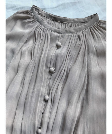 chiffon yoryu gown dress (light beige)