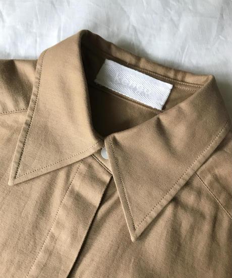 kéngo basic shirt (beige)