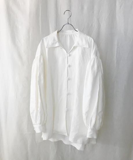 Herdmans linen volume sleeve shirt jacket