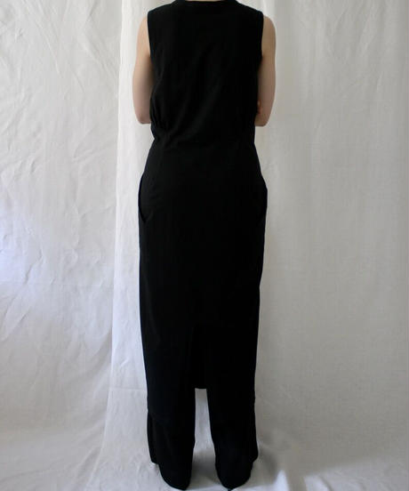 cotton sleeveless long dress