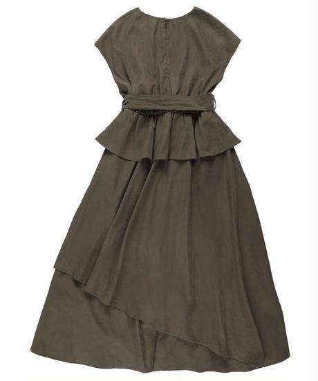 Pepram maxi dress CHARCOAL