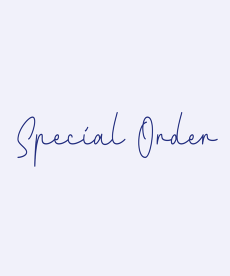 Dear F - Special made to order products