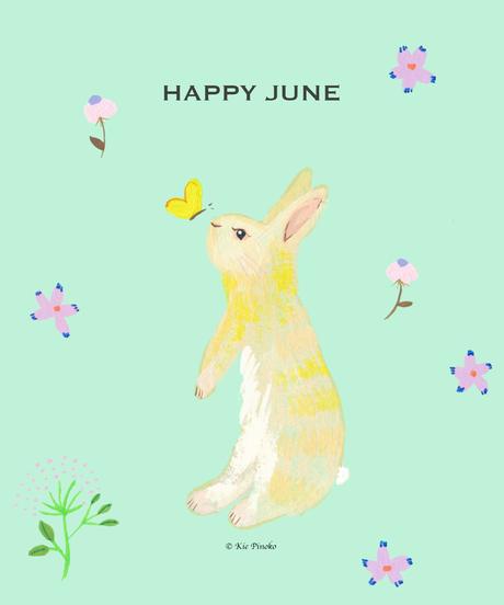 スマートフォン用 壁紙 for free   HAPPY JUNE