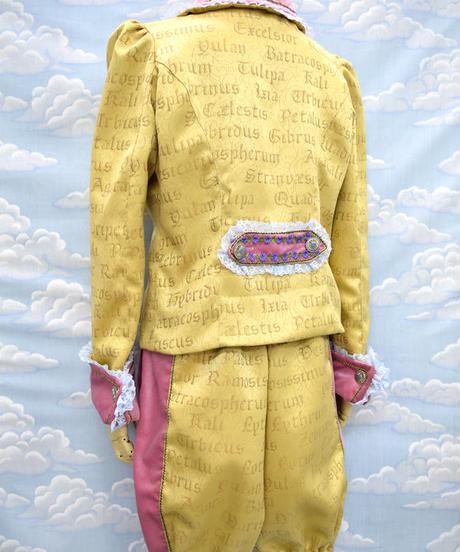 kki.2090 マカロンプリンスSETUPスーツ。