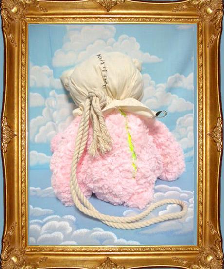 kki.1641 首吊りクマさんBAG 。