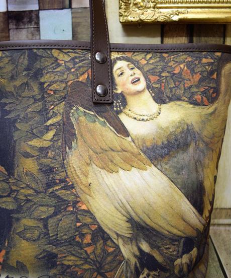 OGB-02.0002 【危機裸裸商店kiki監修】大人ゴシックデザインバッグ <怪鳥シリン>