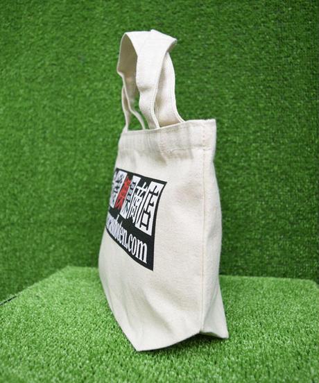 kki.bc-0002 危機裸裸オリジナルロゴ入りランチトートバッグ<ナチュラル>