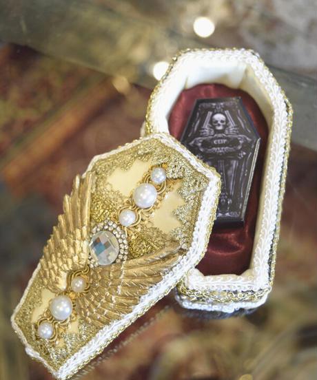 kki.2371  Gothi Clip 棺BOX。<ラファエルコフィン>