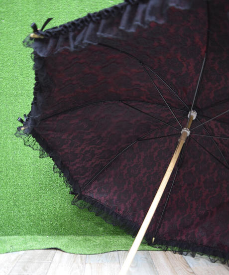 kki.2362 ロマンチックフレーム日傘。