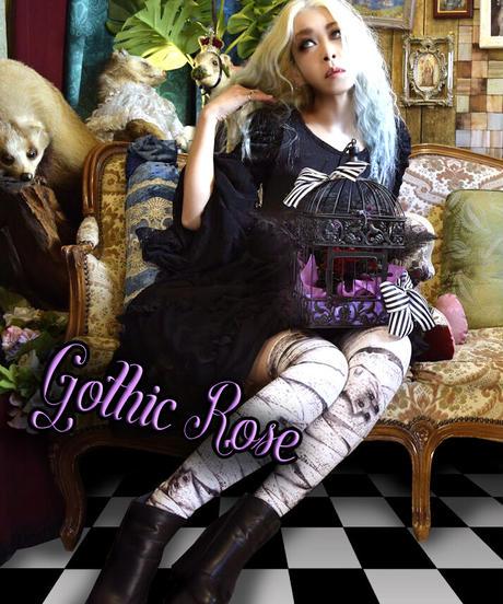 Gothi ROSE ゴシッククリエイター後藤きき プロデュース フラワーアレンジメントギフト★