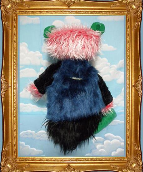 kki.1642 ミックスポップクマさんBAG 。
