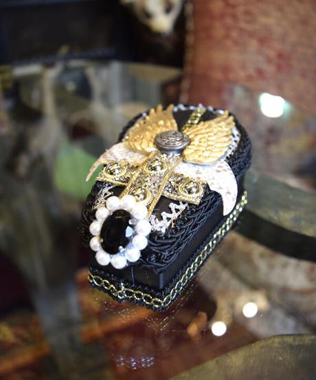 kki.2370  Gothi Clip 棺BOX。<ルシファーコフィン>