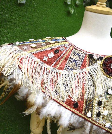 kki.2364 危機裸裸島先住民の民族衣装/スタイ。