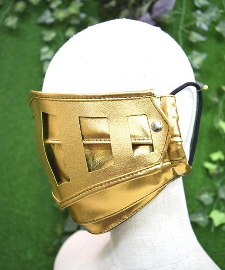 kki.2270 鎧マスク。 <ゴールド>