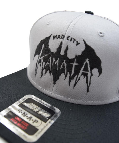 OGP.03-004 MAD city KAMATA CAP<グレー>