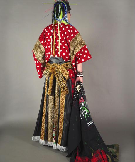 ki-LAD.0002 LAD/kikirara  psycho carnival。羽織袴着物Set