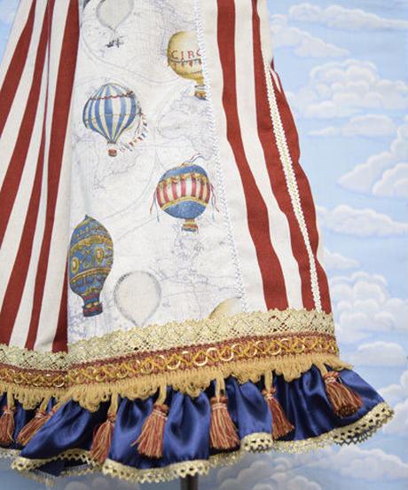kki.2007 気球世界一周トレジャーガウチョパンツ。