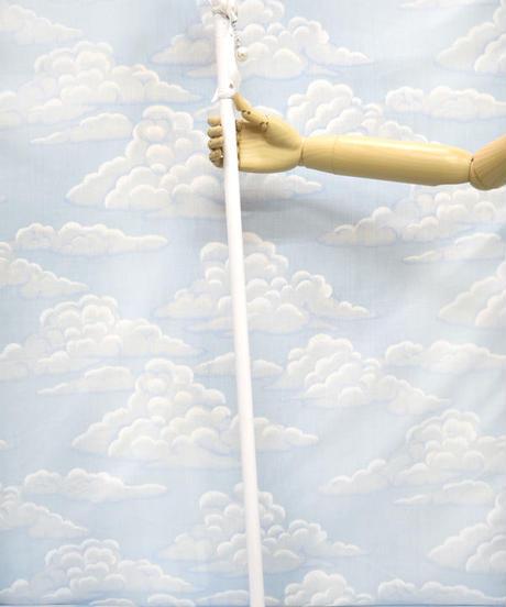 kki.2115 ホワイトホースロココパールステッキ。