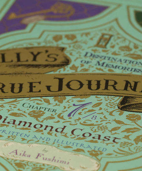 NELLY'S TRUE JOURNEY ( CHAPTER 1 DIAMOND COAST ) ネリのほんとうの旅 ( 第1章ダイアモンド海岸 )