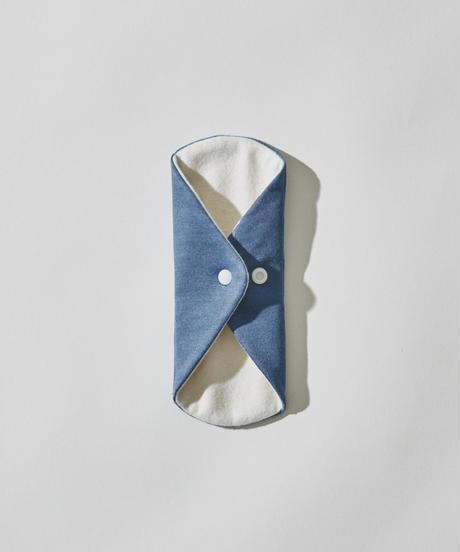 SILK WARM PANTYLINER / DEEP BLUE : ORGANIC INDIGO DYE