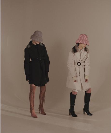 mushroom hat - black