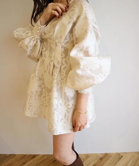 Acka original jacquard  mini dress